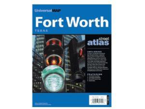 Universal Map 0762528923 Ft Worth TX Street Atlas
