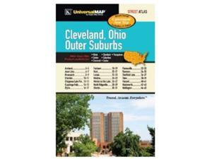 Universal Map 0762575549 Cleveland, OH Outer Suburbs Street Atlas