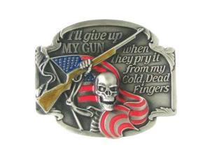 Siskiyou SportsG2E Belt Buckle- I ll Give Up My Gun