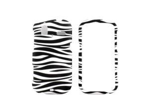 HTC Amaze 4G -T-Mobile-  Black White Zebra Case Cover - HTCAME4GRCBKWHTZB