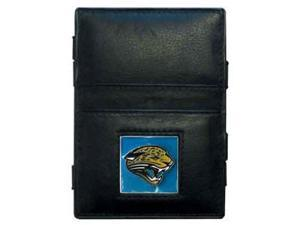 Siskiyou Gifts FJL175 Jaguars Leather Jacob s Ladder Wallet