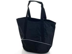 81-1611 Toppers  Sport Tote with Inside Zipper Pouch - Black