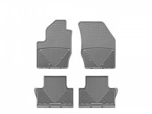 WeatherTech WTVG043170 Front and Rear Rubber Mats Grey Volvo XC90 03-12