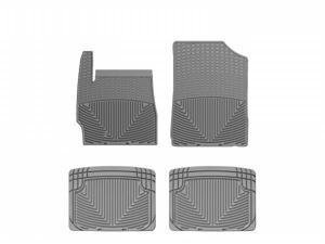 WeatherTech W177GR-W20GR Front and Rear Rubber Mats Grey Ford Escape 05-11