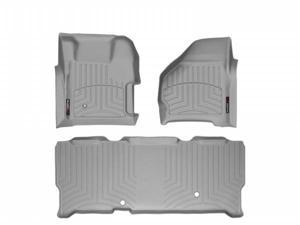 WeatherTech 461251-460023 Front and Rear Floorliners Grey Ford F-Series 99-07