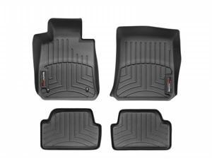 WeatherTech 44253-1-2 Front and Rear Floorliners Black BMW 1-Series 08-11