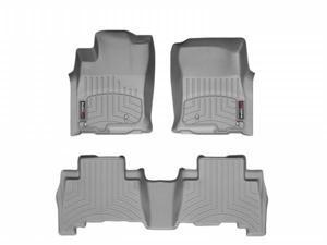 WeatherTech 463611-462862 Front and Rear Floorliners Grey Toyota 4Runner 10-11