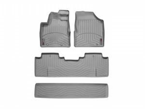 WeatherTech 46050-1-2 Front and Rear Floorliners Grey Honda Ridgeline 06-11