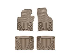 WeatherTech W53TN-W20TN Front and Rear Rubber Mats Tan Volkswagen Passat 06-10