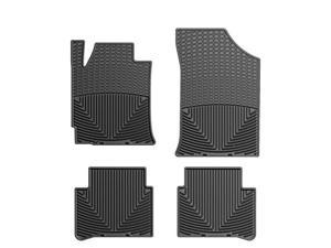 WeatherTech W188-W209 Front and Rear Rubber Mats Black Nissan/Datsun Altima 07-11