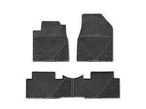 WeatherTech WTHB148152 Front and Rear Rubber Mats Black Honda Pilot 09-11