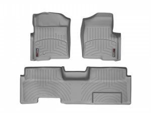WeatherTech 46179-1-4 Front and Rear Floorliners Grey Ford F-Series 09-11