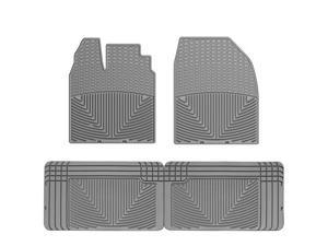 WeatherTech W186GR-W25GR Front and Rear Rubber Mats Grey Ford Edge 07-10