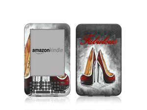 DecalGirl AK3-FABSHOE Kindle Keyboard Skin - Fabulous Shoes