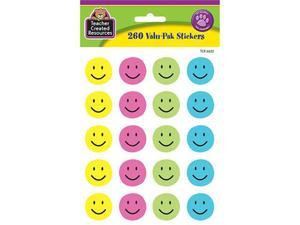 Teacher Created Resources TCR6632 Happy Face Valu-Pak Stickers