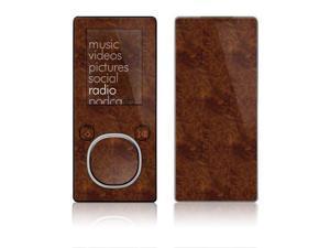 DecalGirl ZSM-DKBURL Zune 4GB-8GB Skin - Dark Burlwood