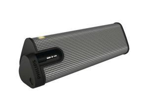 Philips SBA1610-37 Mini-Prism Portable Speaker - Gray