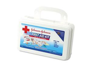 Johnson & Johnson 8140 Professional/Office First Aid Kit for 10 People  98 Pieces  Plastic Case