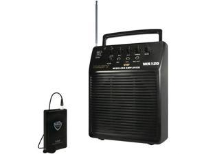 Nady System WA 120 LT/O/B (115) Portable VHF Wireless PA System with Omnidirectional Lavalier Microphone