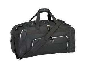 Travelers Club Luggage 57024-001 Adventurer Duffel Collection- 24 Sport Duffel with Wet Shoe Pocket in Black