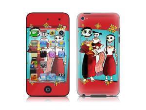 DecalGirl AIT4-SKELFAM iPod Touch 4G Skin - Skeleton Fam