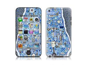 DecalGirl AIT4-BLUETHREAD iPod Touch 4G Skin - The Blue Thread