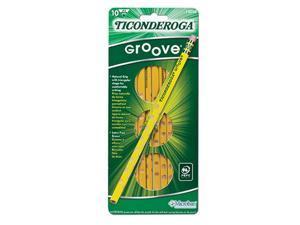 Dixon Ticonderoga Company DIX13058 Ticonderoga Groove No 2 10Ct