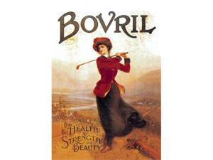 Buyenlarge 00902-0P2030 Bovril - For Health, Strength and Beauty 20x30 poster