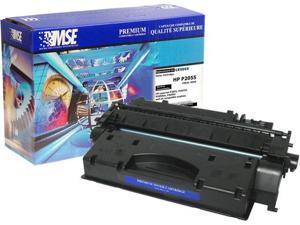 MSE 02-21-0516 Toner Cartridge (OEM # HP CE505X,05X) 6,500 Page Yield&#59; Black