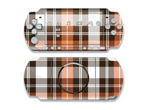 DecalGirl PSP3-PLAID-CPR PSP 3000 Skin - Copper Plaid