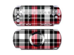DecalGirl PSPS-PLAID-RED PSP Slim & Lite Skin - Red Plaid
