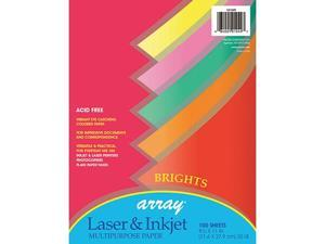 Pacon Corporation PAC101049 Array Multipurpose 100Sht Bright Colors 20Lb Paper