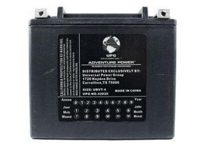Upg 42026 Ubvt-4, Sealed Agm V-Twin Power Sports Battery