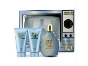 Diesel 14050523114 Fuel For Life Denim Collection Femme Coffret: Edt 50ml-1.7ozplus Shower Gel 50ml-1.7ozplus Body Lotion ...