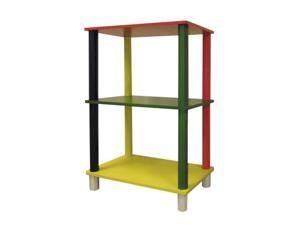 Ore International H-59 Kids  3-Tier Rectangle Shelves