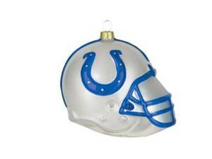Indianapolis Colts Team Glass Helmet Ornament