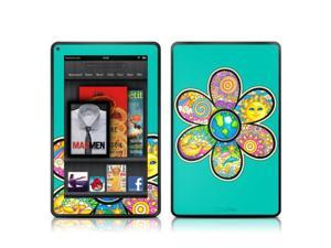 DecalGirl AKF-PEACEFLOWER Kindle Fire Skin - Peace Flower