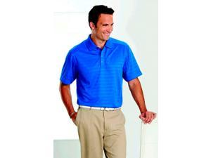 Callaway CGM145MRoyal Blue Textured Performance Polo - Medium