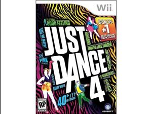 Ubisoft 17720 Just Dance 4 Wii - Game DVD