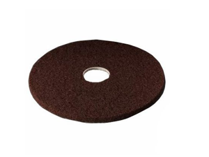 3M Corporation MCO 08448 20 Inch 7100 Low-Speed Floor Strip Pad- Brown - Case of 5