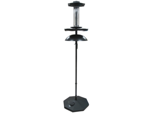 Zenith Innovations Llc - The Effort-less Birdfeeder- Black 20 X 80 Inch - DELUXE #001