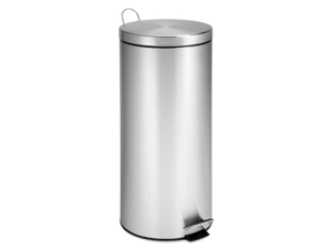 30L Round Stainless Steel Can With Bucket