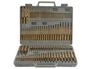 Buffalo Tools PS07535 115 Pc. Titanium Drill Bit Set