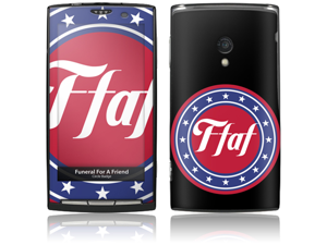 Zing Revolution MS-FFAF10134 Sony Ericsson Xperia X10- Funeral For A Friend- Circle Badge Skin
