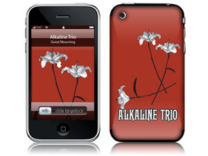 Zing Revolution MS-ALKT40001 iPhone 2G-3G-3GS- Alkaline Trio- Good Mourning Ltd Skin