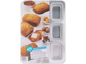 """Petite Loaf Pan-9 Cavity 2-1/2""""X3-3/8""""X1-1/2"""""""