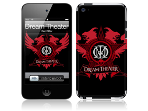 Zing Revolution MS-DTHR10201 iPod Touch- 4th Gen- Dream Theater- Red Star Skin