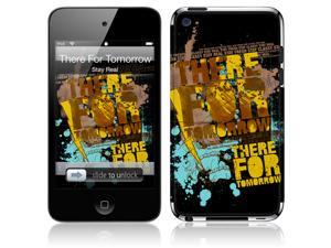 Zing Revolution MS-TFT10201 iPod Touch- 4th Gen- There For Tomorrow- Stay Real Skin