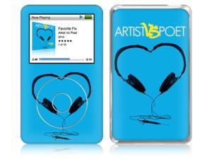 Zing Revolution MS-AVP20003 iPod Classic- 80-120-160GB- Artist Vs Poet- Favorite Fix Skin