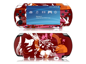 Zing Revolution MS-M520179 Sony PSP- Maroon 5- Abstract Skin